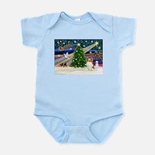 Xmas Magic Papillon (f) Infant Bodysuit