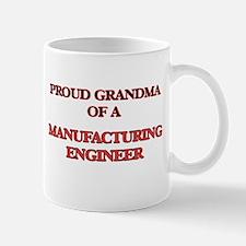 Proud Grandma of a Manufacturing Engineer Mugs