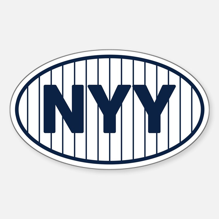 NYY Home Decal