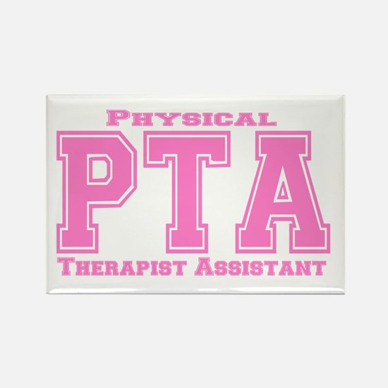 PTA Pink Rectangle Magnet (10 pack)