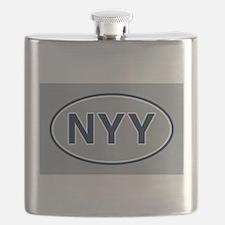 NYY Away Flask
