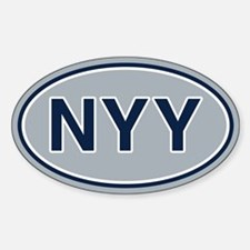 NYY Away Decal