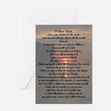 O Great Spirit Greeting Card
