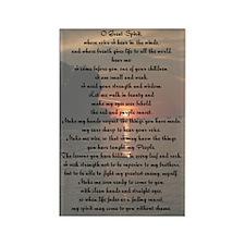 O Great Spirit Rectangle Magnet (100 pack)