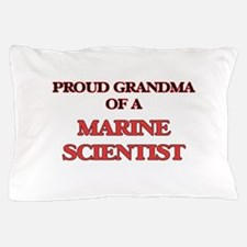 Proud Grandma of a Marine Scientist Pillow Case
