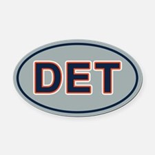 DET Away Oval Car Magnet