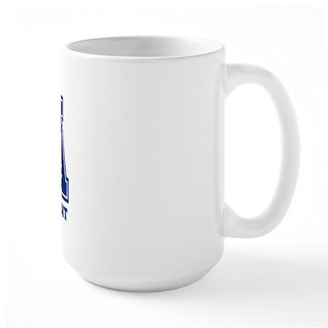 PTA Blue Large Mug