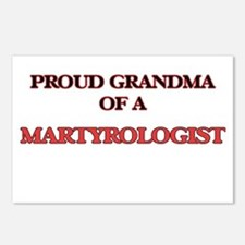 Proud Grandma of a Martyr Postcards (Package of 8)