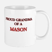 Proud Grandma of a Mason Mugs