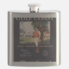 Cool Vintage advertisement Flask