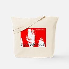 Big Bold Girl  Tote Bag
