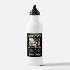 Vintage poster - Gulf Water Bottle