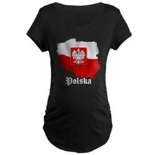 Poland flag map T-Shirt