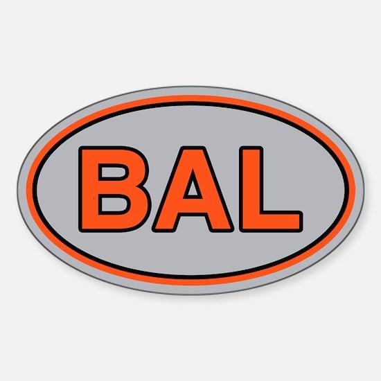BAL Away Sticker (Oval)