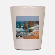 Great Ocean Road and Twelve Apostles Au Shot Glass