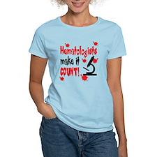Hematologists Make It Count T-Shirt