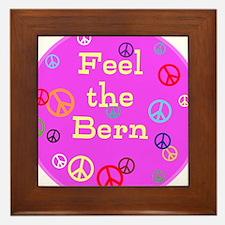 Feel the Bern Framed Tile