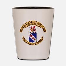 COA - 508th Infantry Regiment Shot Glass