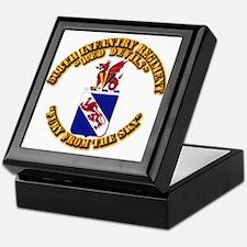COA - 508th Infantry Regiment Keepsake Box
