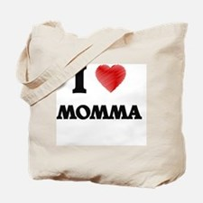 I Love Momma Tote Bag