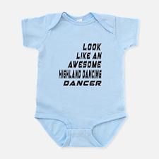 Look Like Highland dancing Dancer Infant Bodysuit