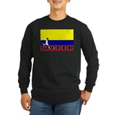 Colombia Flag Soccer T
