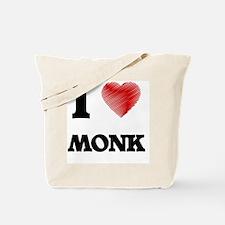 I Love Monk Tote Bag