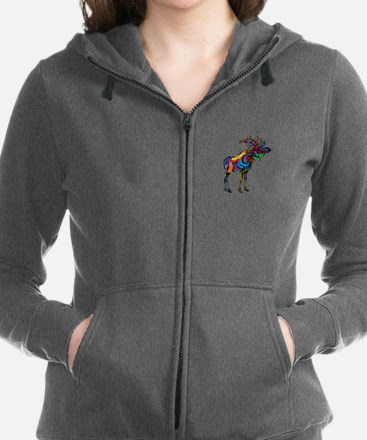 Unique Glacier national park shop Women's Zip Hoodie