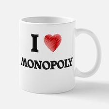 I Love Monopoly Mugs