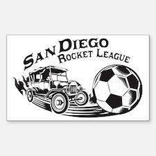 Rocket League Car Accessories Auto Stickers License