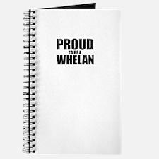 Proud to be WHELAN Journal