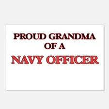 Proud Grandma of a Navy O Postcards (Package of 8)