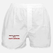 Proud Grandma of a Navy Officer Boxer Shorts