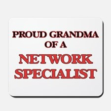 Proud Grandma of a Network Specialist Mousepad