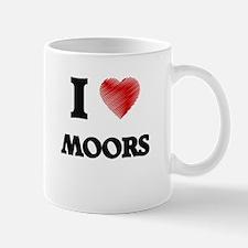 I Love Moors Mugs