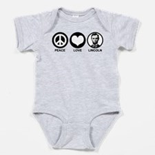 Abe lincoln Baby Bodysuit