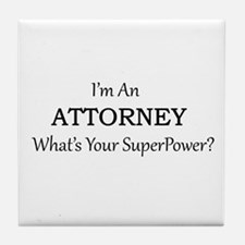 Attorney Tile Coaster