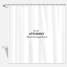 Attorney Shower Curtain