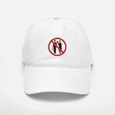 No Preaching Baseball Baseball Cap