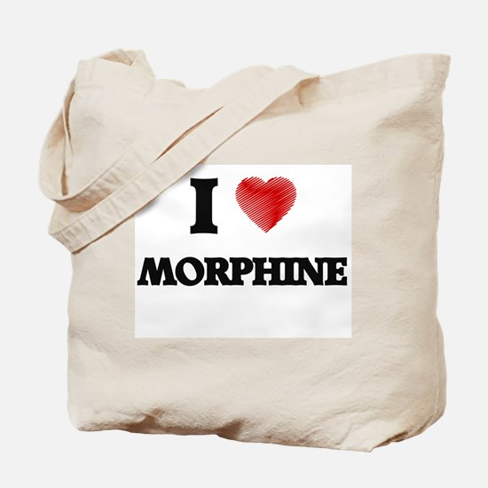 I Love Morphine Tote Bag