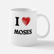 I Love Moses Mugs