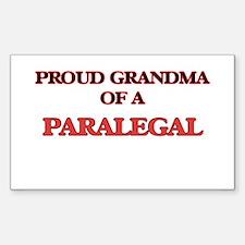 Proud Grandma of a Paralegal Decal