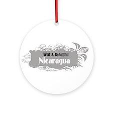 Wild Nicaragua Ornament (Round)