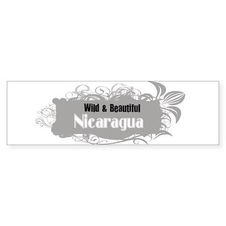 Wild Nicaragua Bumper Sticker