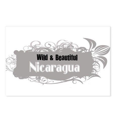 Wild Nicaragua Postcards (Package of 8)