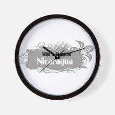 Wild Nicaragua Wall Clock