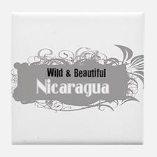 Wild Nicaragua Tile Coaster