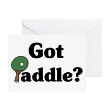 Got Paddle? Greeting Card