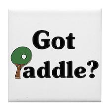 Got Paddle? Tile Coaster