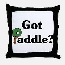 Got Paddle? Throw Pillow